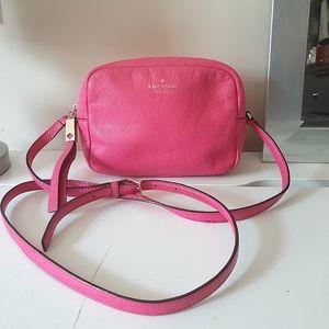 Kate Spade Pink Leather Camera Bag